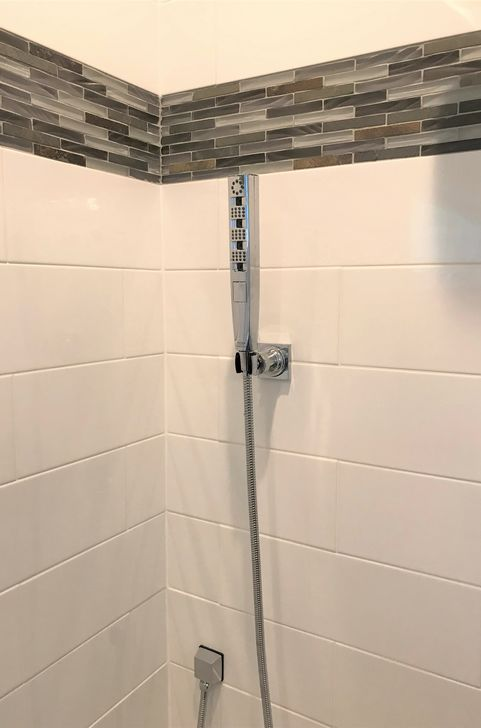 Shower remodel Springfield