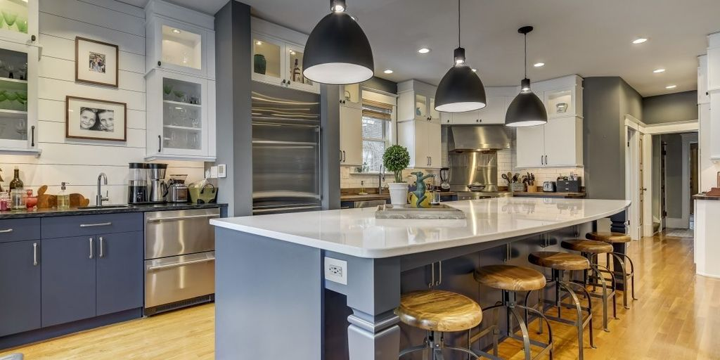 Transitional Kitchen Example