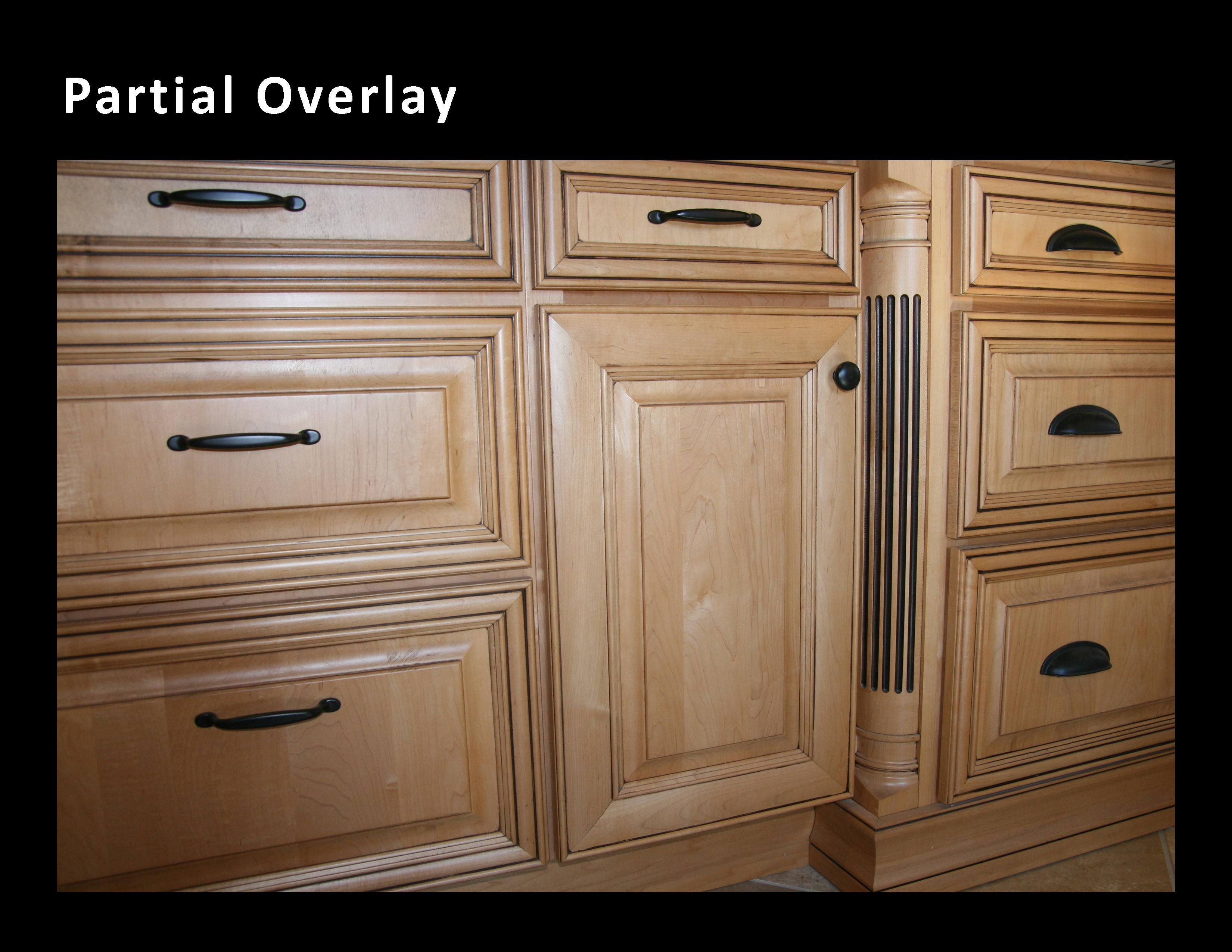 Partial Overlay Cabinets Cabinets Matttroy