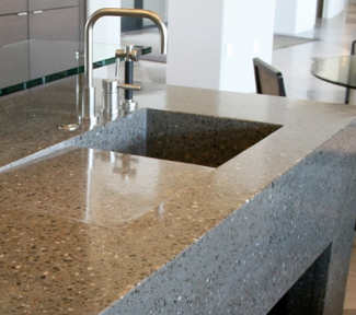 Beautiful Concrete   The Use Of Concrete For Kitchen Sinks ...