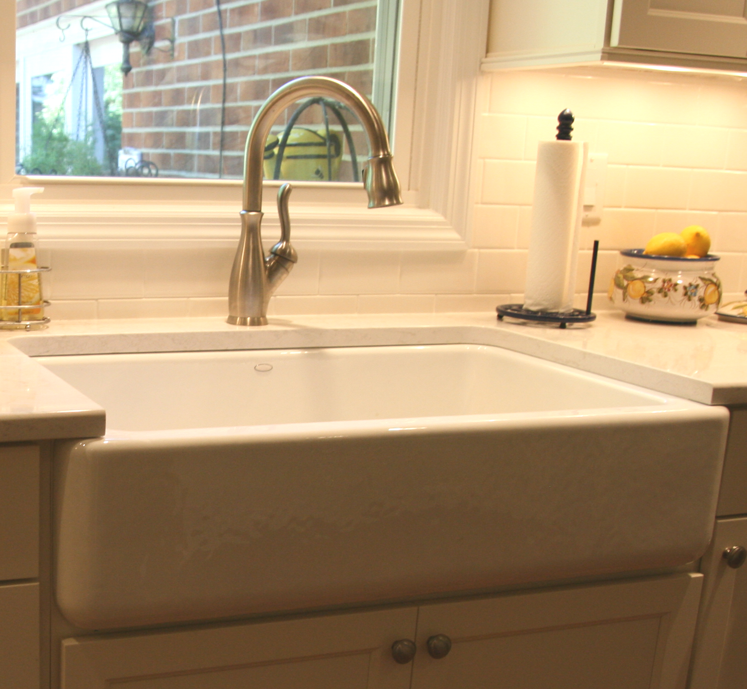 Undermount Porcelain Kitchen Sink - Kitchen Ideas