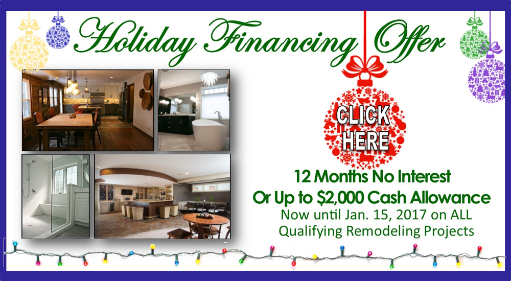 Holiday Financing Offer