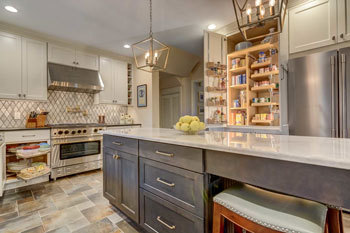 Polished and poised kitchen design