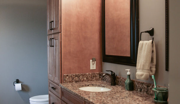 Natural Stone Master Bath View 3