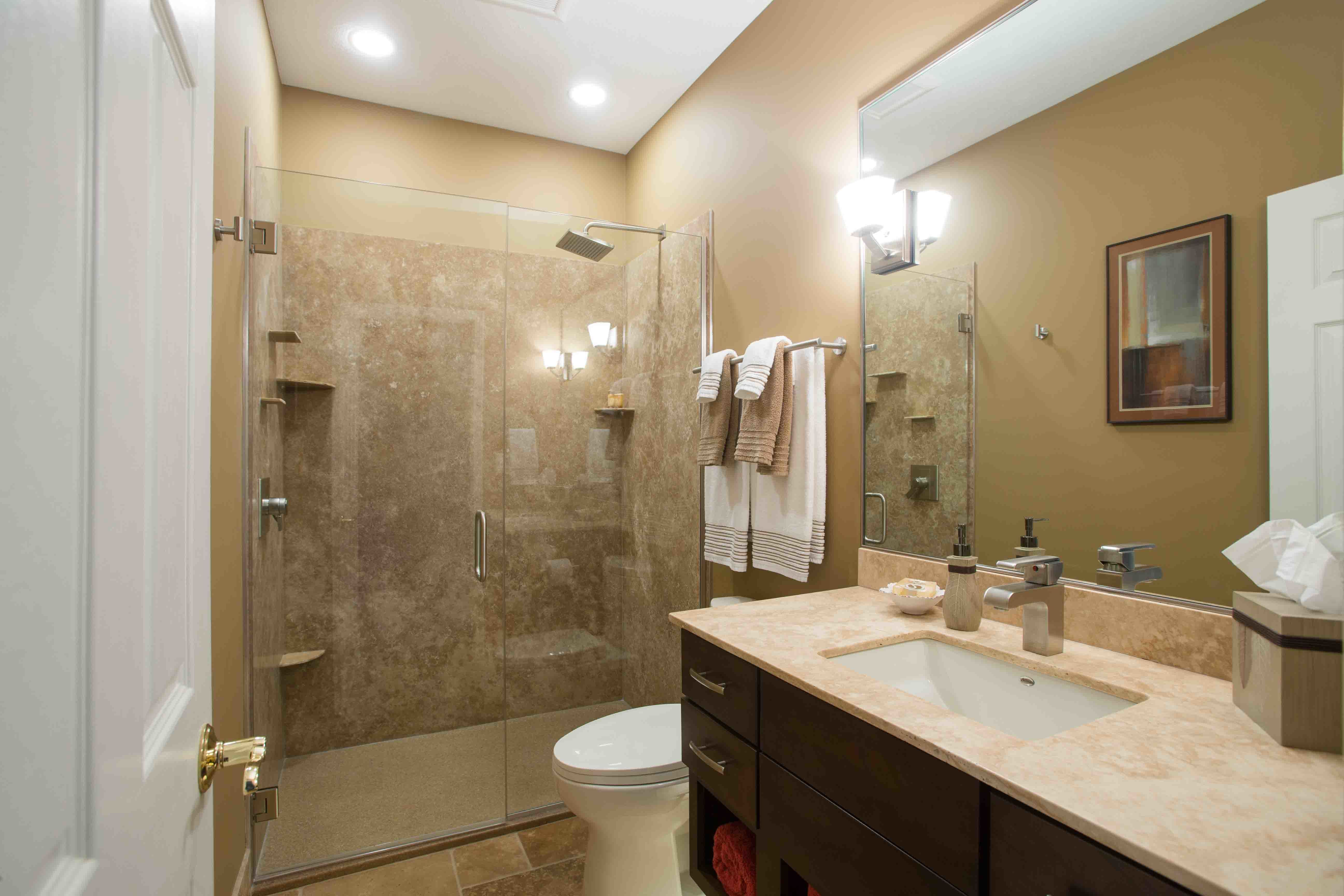 The rejuvenated 5 x 9 bathroom for Bathroom designs 5 x 9