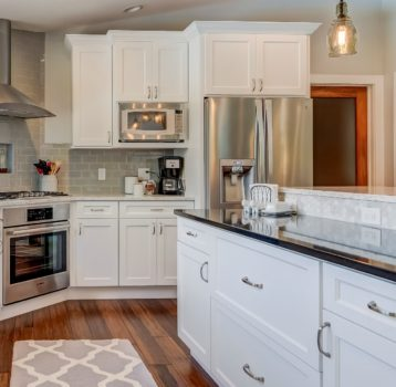 Barn Wood Accents Kitchen Remodel