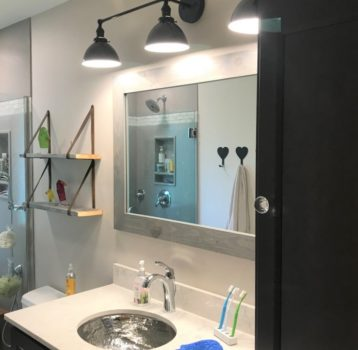 Fun Finishes Bathroom Remodel