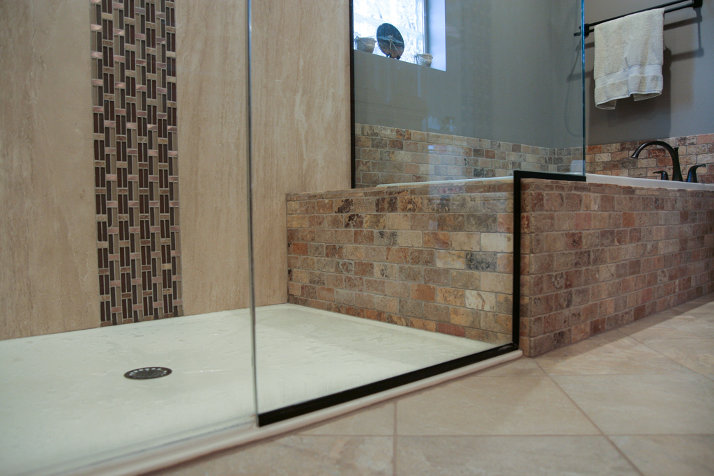 Natural Stone Master Bathroom